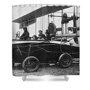 Voisin Flying Machine, 1912 Shower Curtain