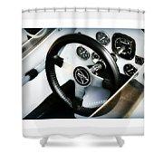 Volant Sportif Shower Curtain