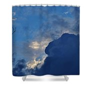 Volatile Autumn Weather Shower Curtain