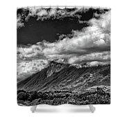 Volcan De Fuego - Bnw - Antigua Guatemala Shower Curtain