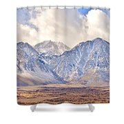 Volcanic Terrain Shower Curtain