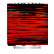 Volcanic Water Shower Curtain
