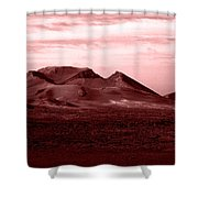 Volcano 3 Shower Curtain
