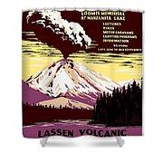 Volcano Shower Curtain