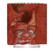 Volcano Shower Curtain