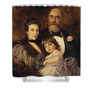 Volkov Manzei Family Makarov. 1890 Shower Curtain