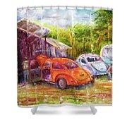 Volks Shower Curtain