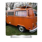 Volkswagen Bus T2 Westfalia Shower Curtain