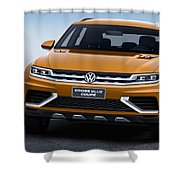 Volkswagen Crossblue Shower Curtain