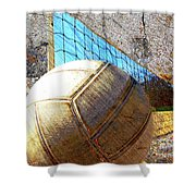 Volleyball Art Version 5 Shower Curtain
