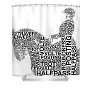 Volte Shower Curtain