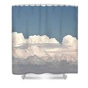 Voluminous Clouds Shower Curtain