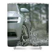 Volvo Xc Coupe Concept Shower Curtain
