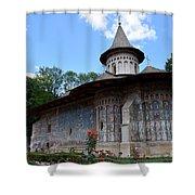 Voronet Monastery Shower Curtain