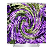 Vortex Abstract Art No. 14 Shower Curtain