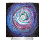 Vortex Of Love 2 Light Is Wave And Particle Shower Curtain