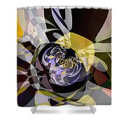 Vortice 4 Shower Curtain