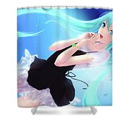 Votofel Force Shower Curtain