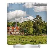 Vrams Gunnarstorp Castle Shower Curtain