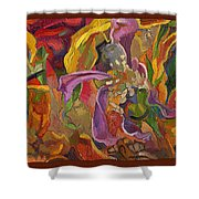 Vsp Xxiv  -marigolds Shower Curtain