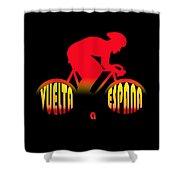 Vuelta A Espana Shower Curtain