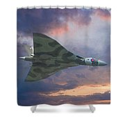 Vulcan Bomber 2 Shower Curtain