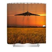 Vulcan Farewell Fly Past Shower Curtain