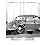 Vw 66 Shower Curtain