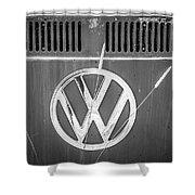 Vw Van Logo Shower Curtain