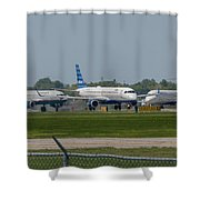 Vying For Position Shower Curtain