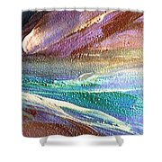 W 034-comet Shower Curtain
