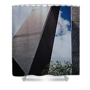 W T C 1 And 2 Shower Curtain