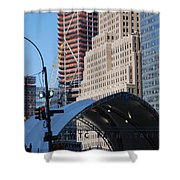 W T C Path Station Shower Curtain
