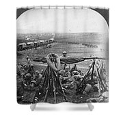 W W I: Battle Of Verdun Shower Curtain