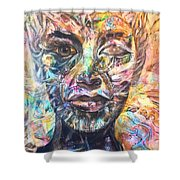 Wa En Re Shower Curtain by Robert Thalmeier