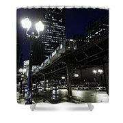 Wabash El Shower Curtain