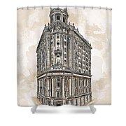 Wabash Station Pittsburgh, Pennsylvania, Circa 1905 Shower Curtain