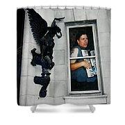 Wacko Shower Curtain
