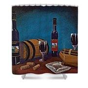 Waco Winery Shower Curtain