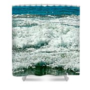 Wading For A Sign Shower Curtain