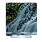 Wadsworth Falls 4 Shower Curtain