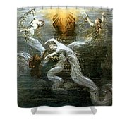Wagner: Das Rheingold Shower Curtain by Granger