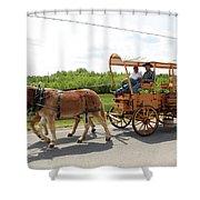 Wagon 13 Shower Curtain