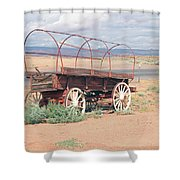 Wagon Of The West Shower Curtain