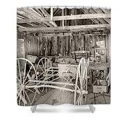 Wagon Repair Shower Curtain
