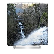 Wah Gwin Gwin Falls 1 Shower Curtain