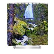 Wahkeena Falls Shower Curtain