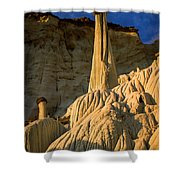 Wahweap Hoodoos At Dawn Shower Curtain
