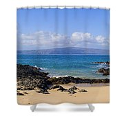 Wai Beach Shower Curtain