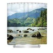 Waikoko On Kauai Shower Curtain
